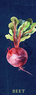 Mixed Media Royalty Free Images - Just a Beet Royalty-Free Image by Brandi Fitzgerald