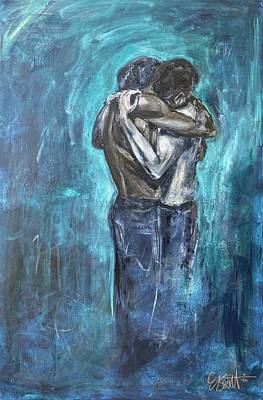Painting - Just love. by Elena Kent