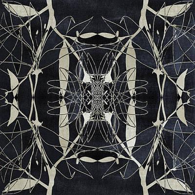 Surrealism Digital Art Rights Managed Images - Kaleidoscopic Dark Abstract 1 Royalty-Free Image by Studio Grafiikka
