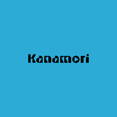 Royalty-Free and Rights-Managed Images - Kanamori by TintoDesigns
