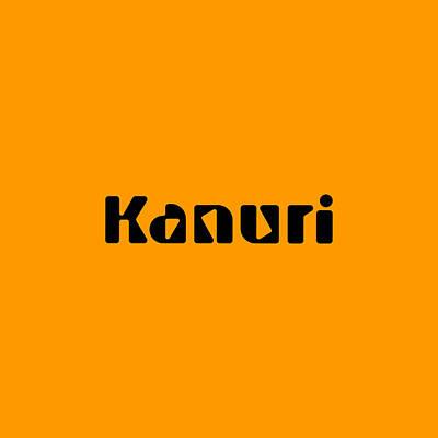 Digital Art - Kanuri by TintoDesigns