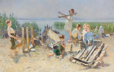 Pasta Al Dente - Karl Hartmann German 1861 1927 Al fresco concert by Artistic Rifki