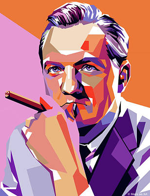 Stone Cold - Karl Malden by Stars on Art