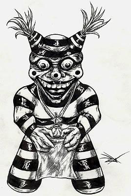 Drawing - Kashari by Dan Henk