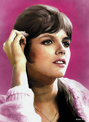 Royalty-Free and Rights-Managed Images - Katharine Ross illustration by Stars on Art