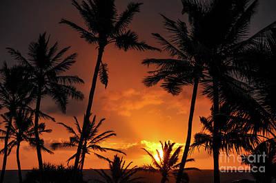 Kim Fearheiley Photography - Kauai Fire Sunrise by Kelly Wade