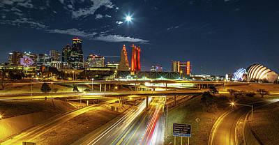 Keith Richards - K.C. in Red by Ken Kobe
