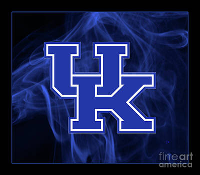 Sports Royalty-Free and Rights-Managed Images - Big Blue Nation Kentucky Wildcat Mystique by John Stephens