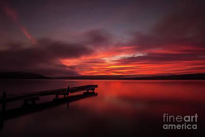 Photograph - Keuke at Sunrise by Kim Clune