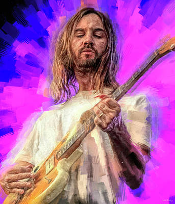 Royalty-Free and Rights-Managed Images - Kevin Parker Tame Impala by Mal Bray