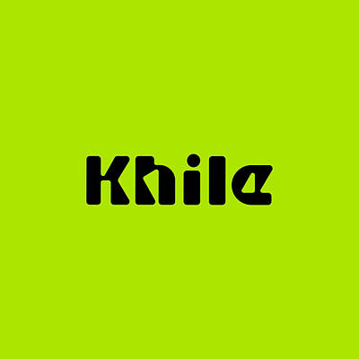 Royalty-Free and Rights-Managed Images - Khile #Khile by TintoDesigns
