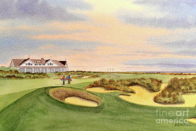 Recently Sold - Sports Royalty-Free and Rights-Managed Images - Kiawah Island Ocean Golf Course  by Bill Holkham