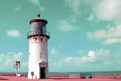 Surrealism Digital Art - kilauea lighthouse - Surreal Art by Ahmet Asar by Celestial Images