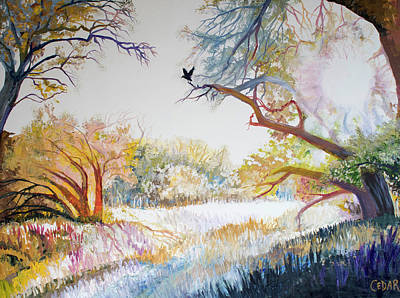 Painting - King of the Clearing by Cedar Lee