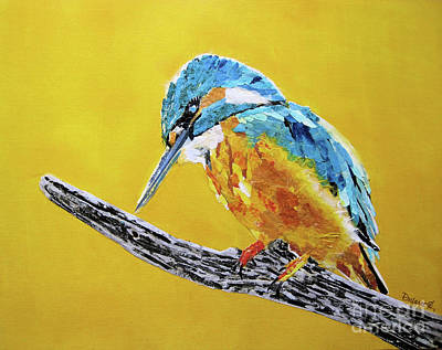 Painting - Kingfisher I by Diane Marcotte