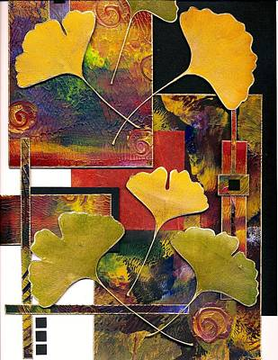 Mixed Media - Kinko Tapestry by Koka Filipovic