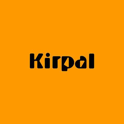 Digital Art - Kirpal by TintoDesigns