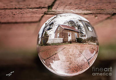 Catch Of The Day - Kitchen Through Photo Ball by Aaron Shortt