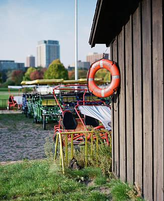 Photograph - Kite Shop at Veterans Park by Vincent Buckley