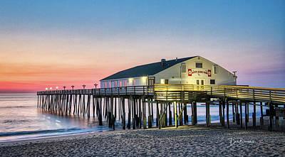 Dan Beauvais Photos - Kitty Hawk Pier Sunrise #1356 by Dan Beauvais