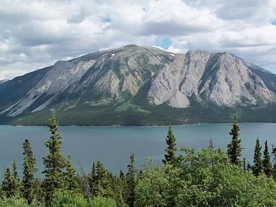 Thomas Kinkade - Klondike Lake by Katie Beougher