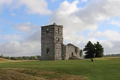 World War 2 Action Photography Royalty Free Images - Knowlton Church Royalty-Free Image by Michaela Perryman