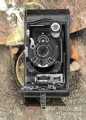 Mannequin Dresses - Kodak 3a Autographic Special Model B by Anthony Ellis