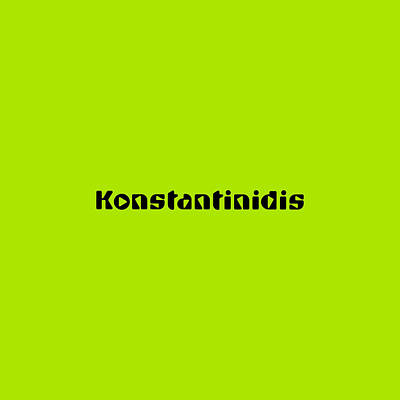 Royalty-Free and Rights-Managed Images - Konstantinidis by TintoDesigns
