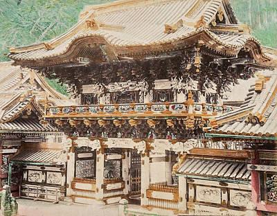 Travel Rights Managed Images - Kozaburo Tamamura Japanese 1856 1923 Views of Japan 1897 Hand colored albumen 16 Royalty-Free Image by Artistic Rifki