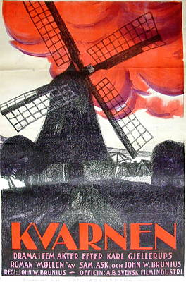 Royalty-Free and Rights-Managed Images - Kvarnen, 1921 by Stars on Art