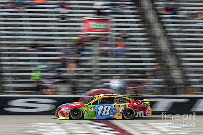Fruits And Vegetables Still Life - Kyle Busch crossing the finish line by Paul Quinn