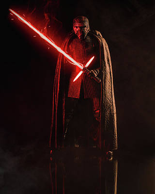 Photograph - Kylo Ren Action Figure by Lance Reis