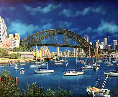 Royalty-Free and Rights-Managed Images - la baia di Sidney by Guido Borelli