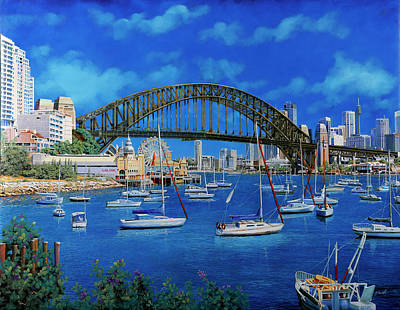 Royalty-Free and Rights-Managed Images - la baia di Sydney by Guido Borelli