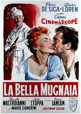 Royalty-Free and Rights-Managed Images - La Bella Mugnaia, with Sophia Loren, 1955 by Stars on Art