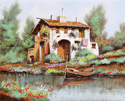 Classic Baseball Players - La Casa by Guido Borelli