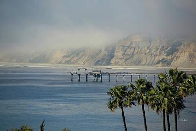 Photograph - La Jolla Cliffs in Clouds by Russ Harris