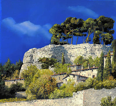 Royalty-Free and Rights-Managed Images - La Rocca Bianca by Guido Borelli