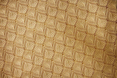 Curated Travel Chargers - Lace Fabric Textures by Julien
