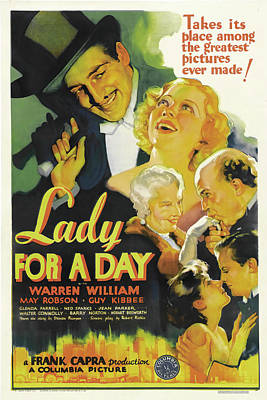 Royalty-Free and Rights-Managed Images - Lady for a Day - 1933 by Stars on Art