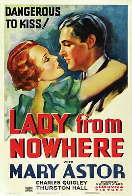 Travel - Lady From Nowhere, with Mary Astor, 1936 by Stars on Art