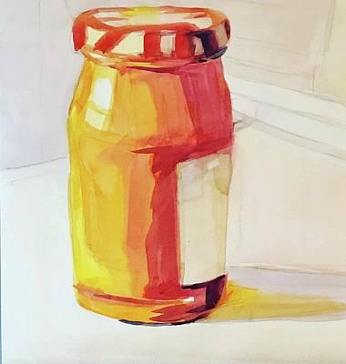 Painting - Lady Marmalade  by Jo Mackenzie