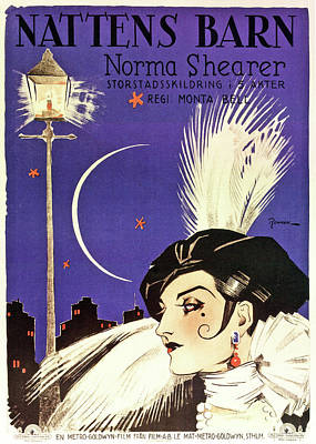 Personalized Name License Plates - Lady of the Night, with Norma Shearer, 1925 by Stars on Art