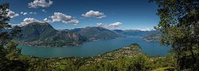 Winter Animals - Lake Como. Bellagio. Italy by Giovanni Appiani