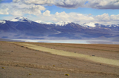 Photograph - Laguna Verde and bolivian Andes by Jiri Vatka