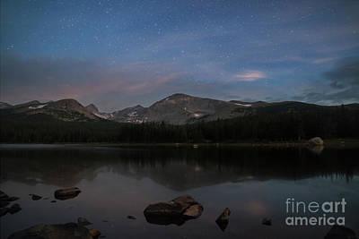 Photograph - Lake Brainard at Twilight by Keith Kapple