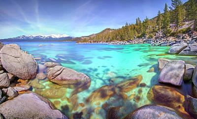 Louis Armstrong - Lake Cove by Steve Baranek