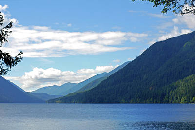 Just Desserts Rights Managed Images - Lake Crescent. Olympic National Park Royalty-Free Image by Connie Fox