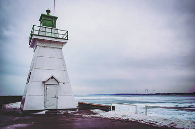 Photograph - Lake Erie Lighthouse by Exploration Project