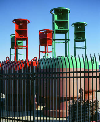 Photograph - Lake Express Colorful Metal by Vincent Buckley